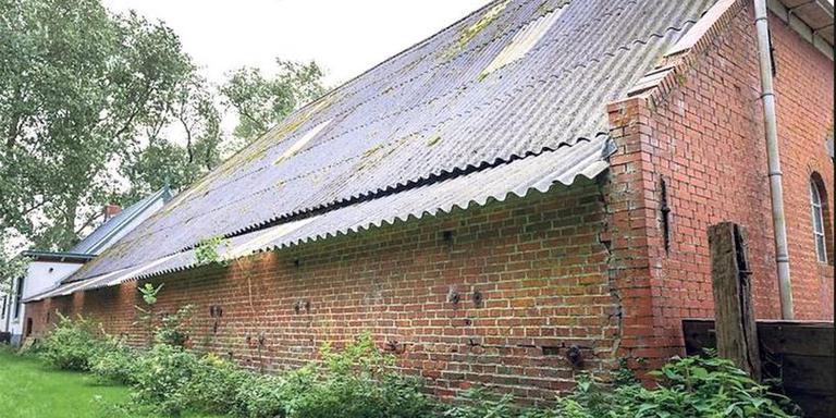 De schuur van de boerderij Klein Garnwerd. Foto Het Groninger Landschap/Geert Job Sevink