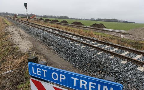 Trein toetert minder vaak bij Voslaan Winsum