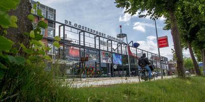 Het huidige cultuurcentrum De Oosterpoort aan de Trompsingel.