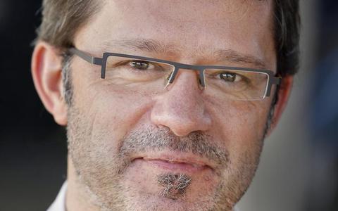 Hoogleraar Manuel Sintubin van de KU Leuven.