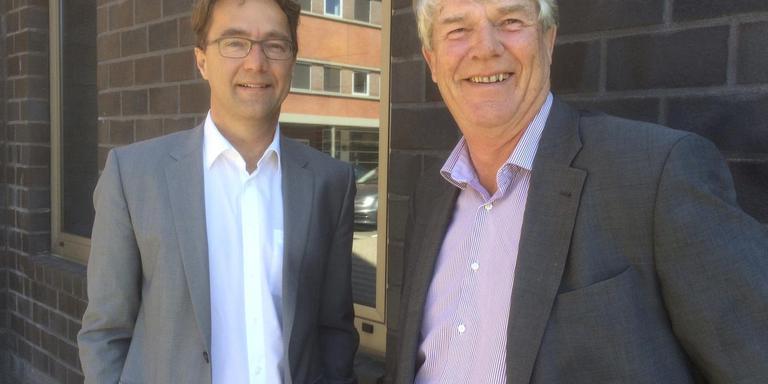 Jan Camphuijsen (links) en Syto Goslinga. FOTO DVHN
