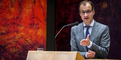 Minister Erik Wiebes. Foto: ANP