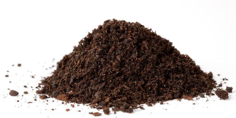 Een composthoop. Foto: Archief DvhN