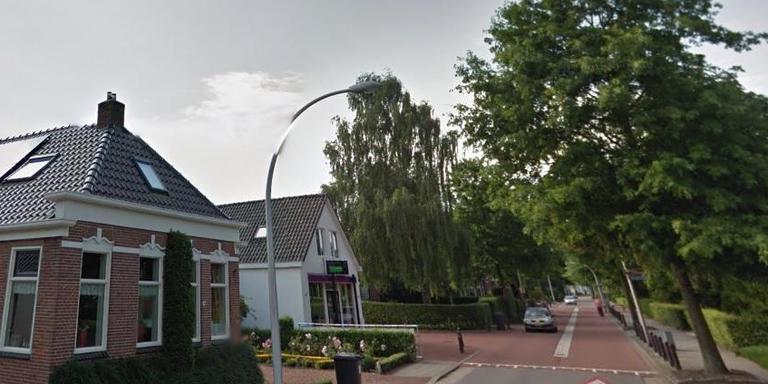De Stationstraat in Scheemda. Foto: Google Streetview