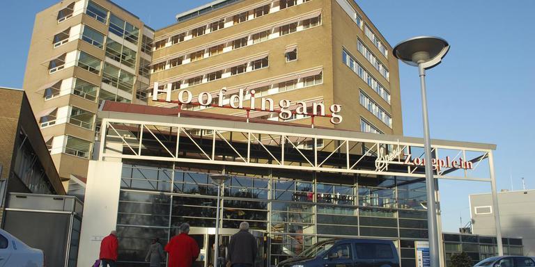 Het Bethesda ziekenhuis in Hoogeveen. FOTO ARCHIEF DVHN