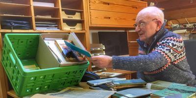 Wim Dussel is een verzamelaar van historisch werk en wil nu ook weten hoe het met de Jonkersbadde zit.