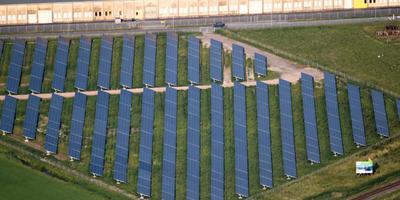 Het coöperatieve zonnepark Vierverlaten van Grunneger Power. Foto: DvhN