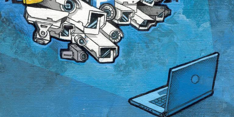 De privacywet bestaat een half jaar. Waar staan we? Illustratie: Archief Job van der Molen