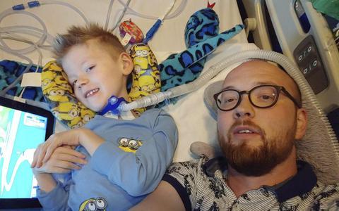 Vader ernstig zieke Geuko (6) uit Winschoten tussen hoop en vrees, ook na EO-programma