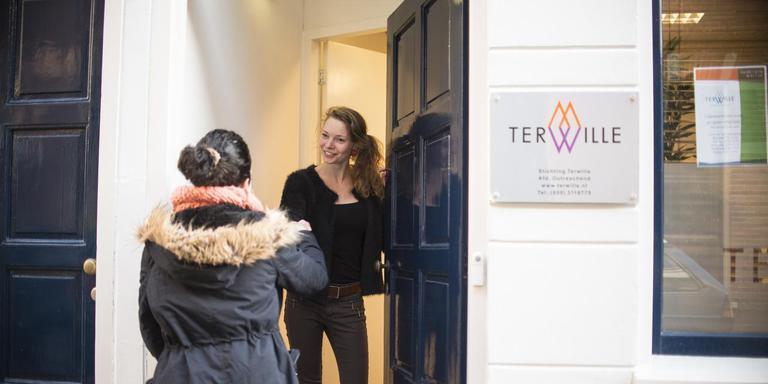 De locatie van Terwille Verslavingszorg in Groningen. Foto Jeanine Veen, ComMediArt