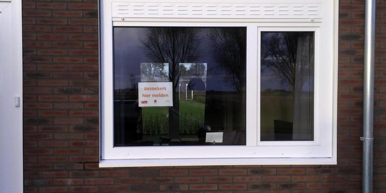 Wisselwoningen aan de Zwartelaan in Loppersum. Foto: DvhN