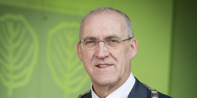 Burgemeester Adriaan Hoogendoorn