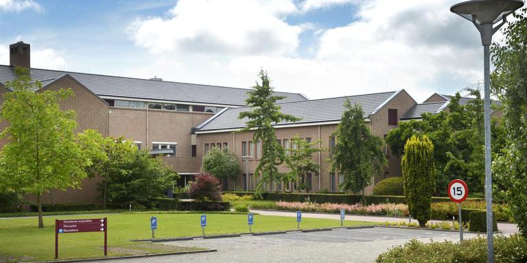 Het hoofdkantoor van de Jehova's Getuigen in Emmen.
