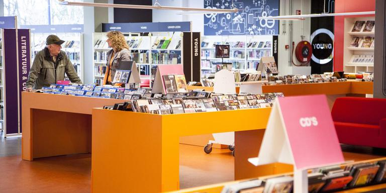 De openbare bibliotheek in Stadskanaal. Foto Huisman Media