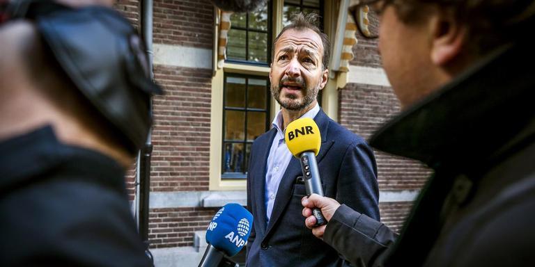 Minister Wiebes: Groningen moet vooral zelf met investeringsplannen komen. Foto: Archief ANP
