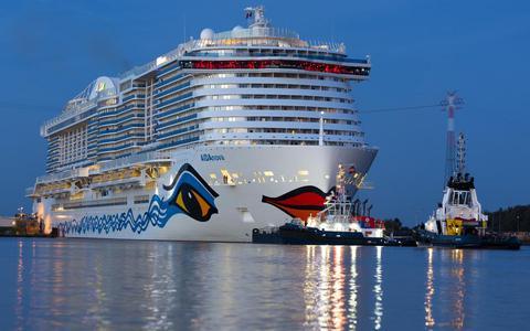 Brand cruiseschip Aida Saga op Meyer Werft veroorzaakt voor 40.000 euro schade