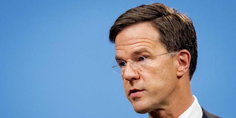 Premier Mark Rutte. Foto ANP