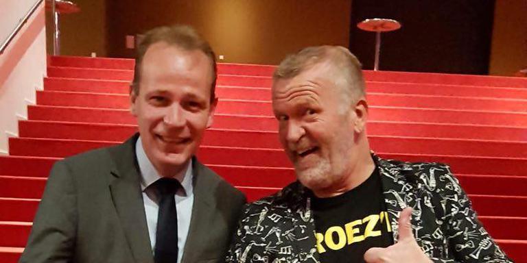 Joost van Keulen (l) en Henk de Haan: Broezen versus Broez'n.