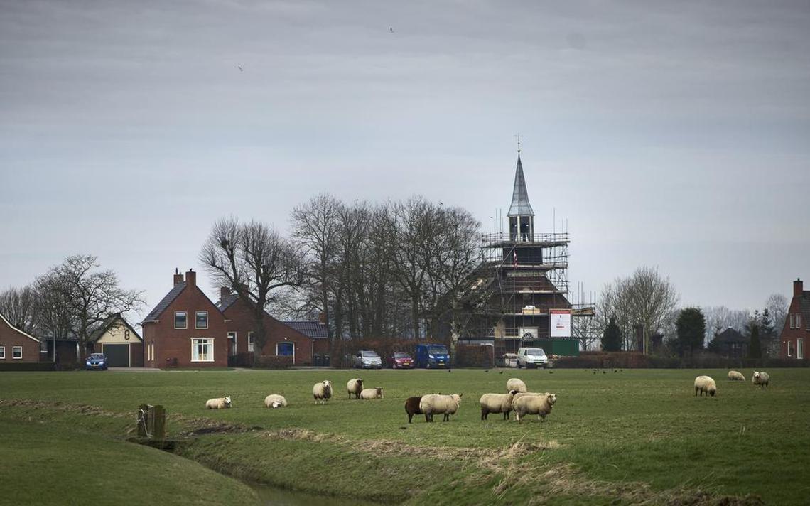 Informatiepunt in kerkje Klein Wetsinge - Dagblad van het Noorden
