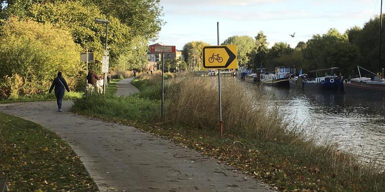 Het verkeersbord op de Hoornsedijk.