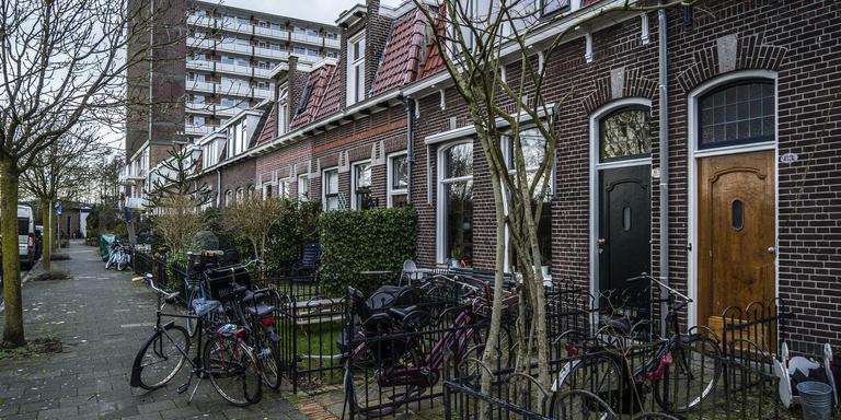 De Piet Heinstraat in Groningen