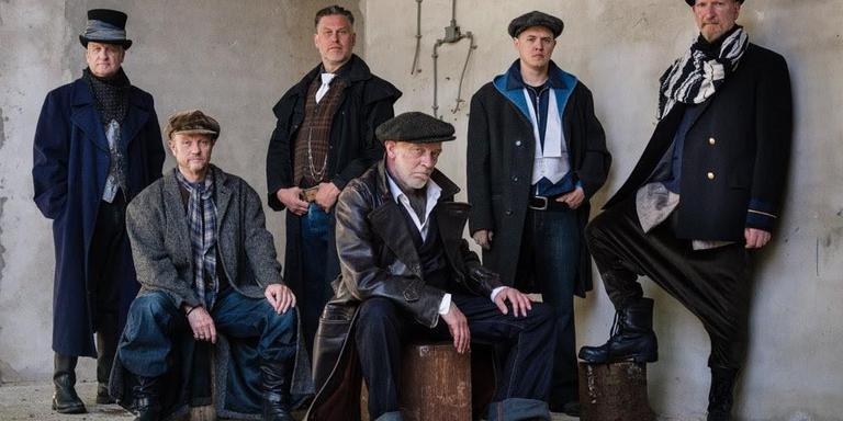 De Drents/Groningse muziektheatervoorstelling De Grup van Iemandsland is genomineerd voor de DvhN streektaalprijs 2018. foto Judith van der Meulen