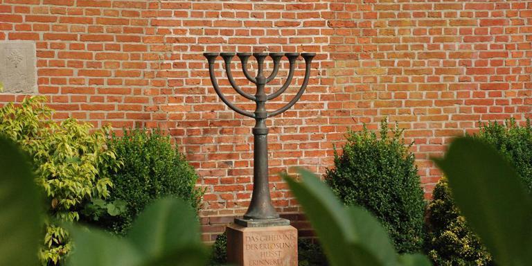 Het Joodse gedenkteken in Weener