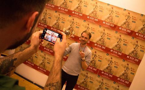 Ivo (27) uit Groningen wint eerste prijs tijdens NK Risk