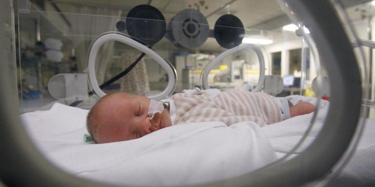 Het UMCG gaat als eerste ziekenhuis in Nederland muziektherapie toepassen op de afdeling neonatologie. Foto: ANP