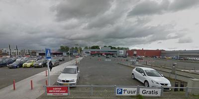 Ketens als Decathlon en Kwantum vestigen zich aan het Sontplein in Groningen. Foto: Google Streetview