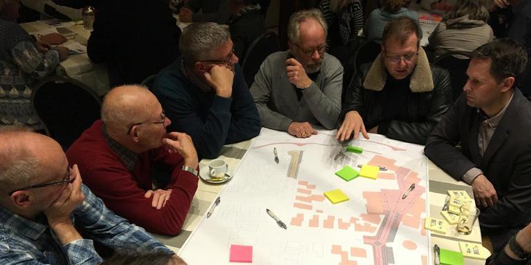 Bewoners en ondernemers denken mee over het centrum van Winsum.