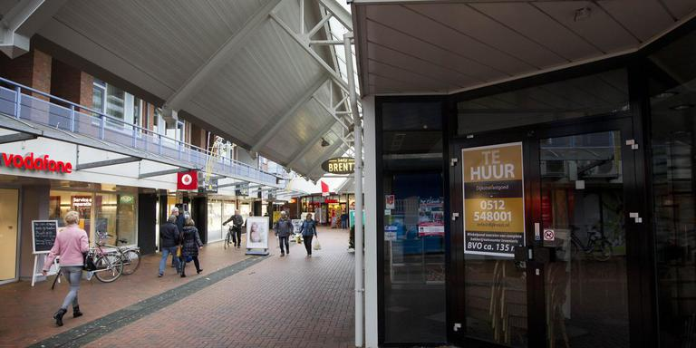 Het winkelcentrum in Stadskanaal. FOTO ARCHIEF DVHN