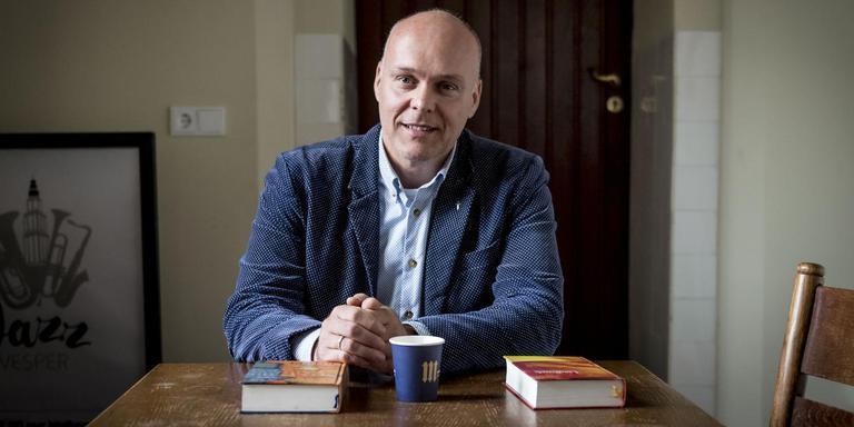 Pieter Versloot, biechtvader in de Martinikerk. Foto Geert Job Sevink