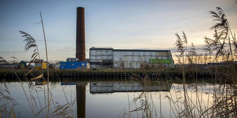 Het voormalige Suikerunieterrein waarop een nieuwe stadswijk verrijst.