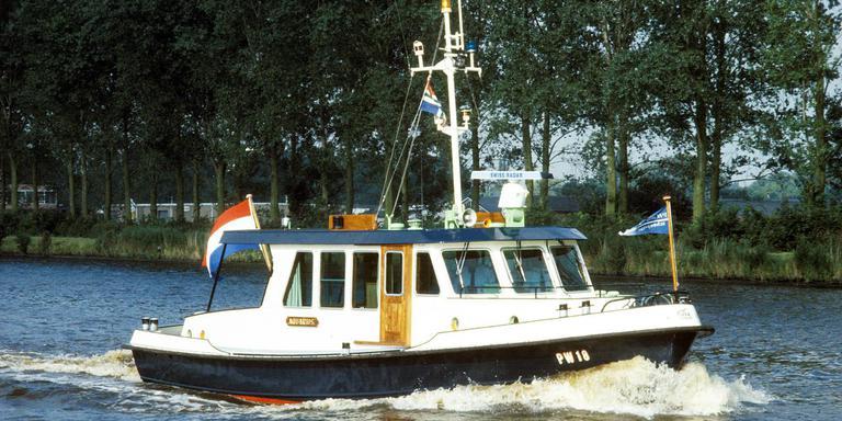 Het schip de Aquarius. Foto: Provincie Groningen
