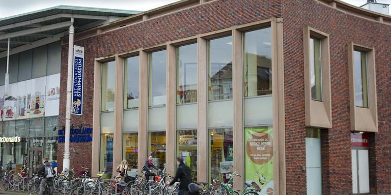 Het Stripmuseum aan de Westerhaven.