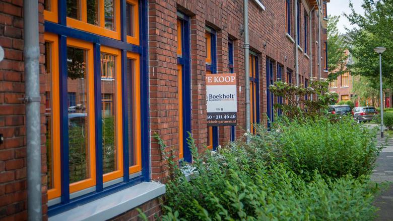 Prijzenslag jaagt kopers weg van woningmarkt stad Groningen