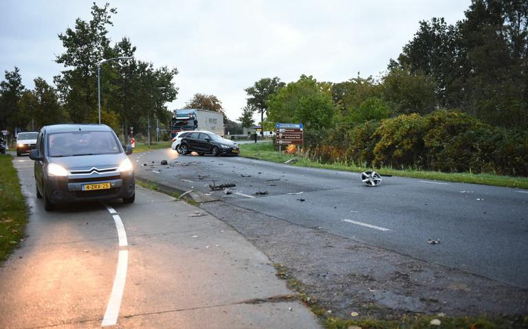 Inzittenden auto's gewond na botsing bij Finsterwolde