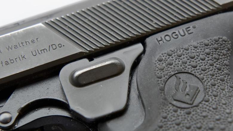 Een politiepistool.