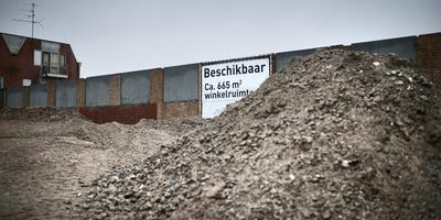 Het gebied tussen de Vissersdijk en Venne in het centrum van Winschoten. Foto: Archief Corné Sparidaens