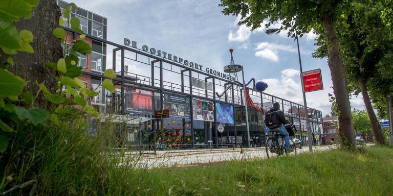 De huidige Oosterpoort aan de Trompsingel. Foto: DvhN/Roelof van Dalen