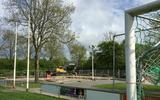 De werkzaamheden voor het nieuwe sportpark Winsum zijn begonnen. Foto DvhN