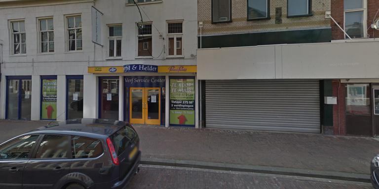 Het bewuste winkelpand (foto: GoogleStreetview)