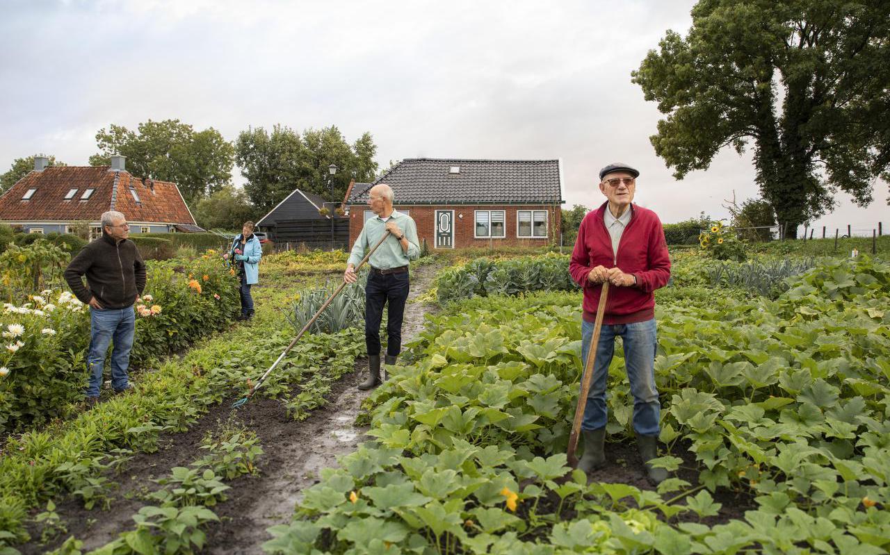 Project: 'Elk dorp zijn eigen voedseltuin'. Subsidie: 4 ton