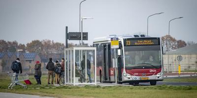 Op de reguliere lijn 73 is de rust teruggekeerd sinds de pendelbus rijdt.
