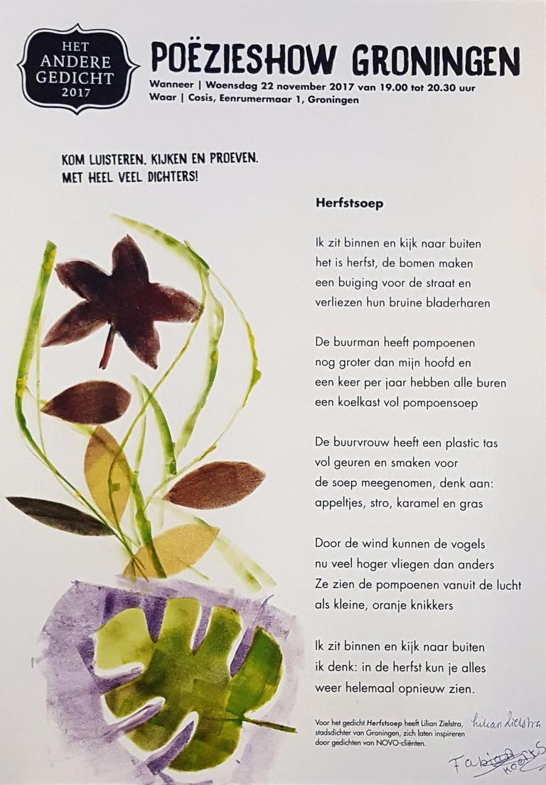 Poëzieshow Door Dichters Met Verstandelijke Handicap