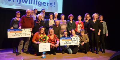 Stichting DWS won de Vrijwilligersprijs 2019 in Stadskanaal. Foto: Persbureau Meter.