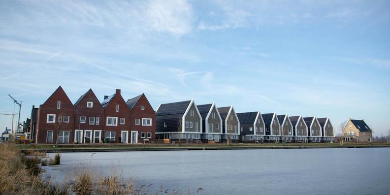 De wijk Meerstad in Groningen is aardgasloos gebouwd. Foto: Archief DvhN/Roelof van Dalen
