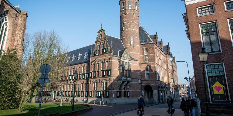 Het provinciehuis aan het Martinikerkhof in Groningen. Foto: DvhN/Roelof van Dalen