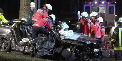 Een plofkraker kwam vorige maand om het leven bij een ongeval tijdens het vluchten